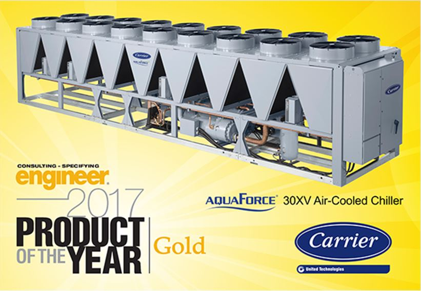 Carrier 30XV Product of the Year